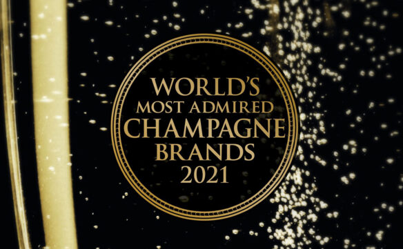 Pol Roger Crowned #2 World's Most Admired Champagne Brand 2021